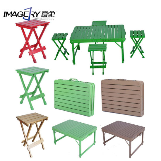 Aluminum Alloy Portable Folding Outdoor Table and Chair for Pinic