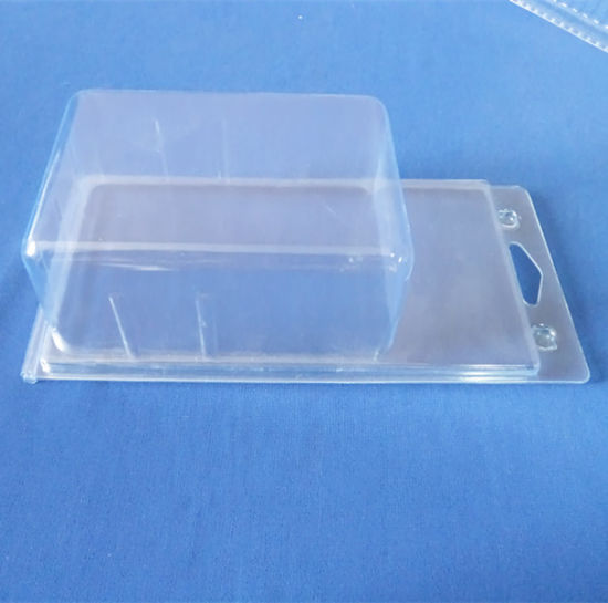 Clear PVC Clamshell Box for Auto Parts Plastic Blister Packing Box pictures & photos
