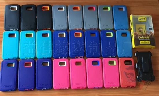 High Hybrid Defender Mobile Phone Housing Case for Samsung S6