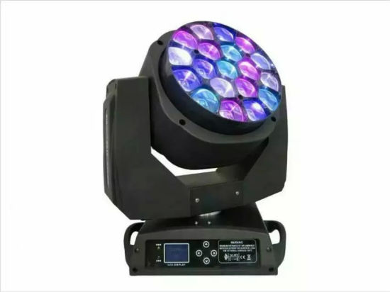 19X15W Bee Eye LED Moving Head Light with Zoom pictures & photos