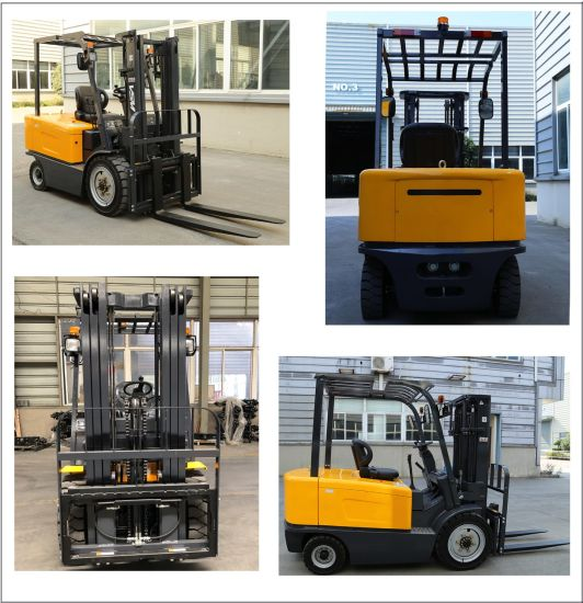 Japanese Engine Mini Electric Forklift pictures & photos