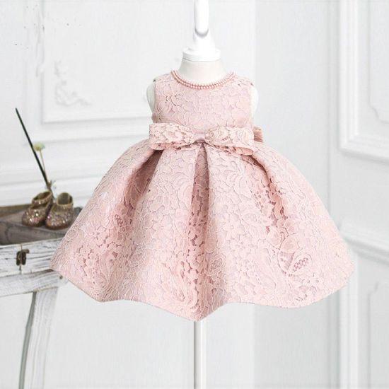 Elegant Lace Fluffy Lace Flower Girl Dress