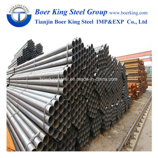 ERW Welded Carbon Steel Round Pipe and Tubes pictures & photos