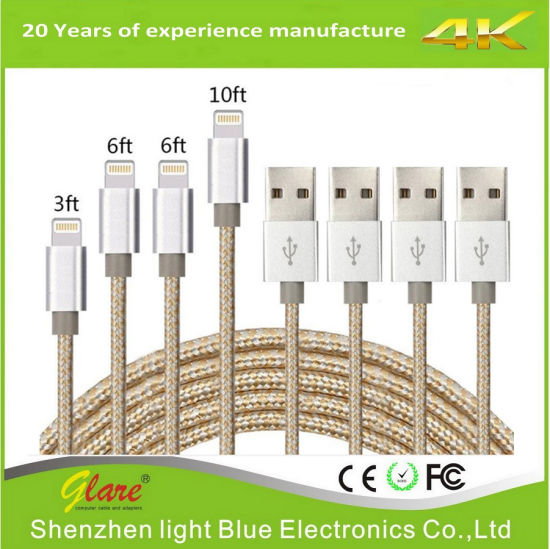 USB Lighting Charging Cable for iPhone pictures & photos