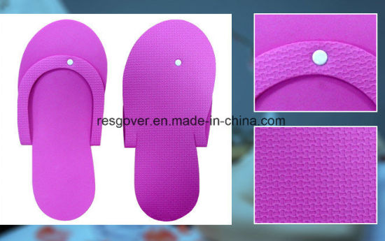 b20b165b06f003 China Disposable EVA Pedicure Nail Flip Flops Slipper - China EVA ...