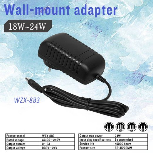 OEM Factory 12V 1.5A AC / DC Adapter for Game Machine pictures & photos
