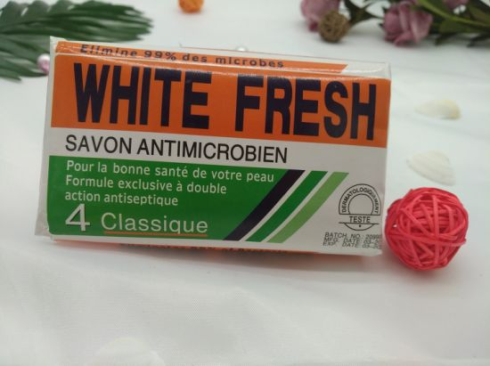 OEM 200g Pharmapur Antibacterial Bath Toilet Soap Factory