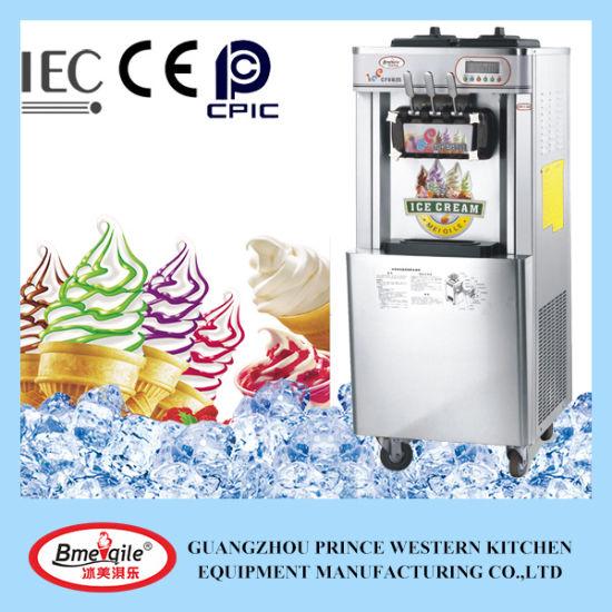 Prince Precooling Air Pump Ice Cream Machine Soft Serve with Mq-L32b