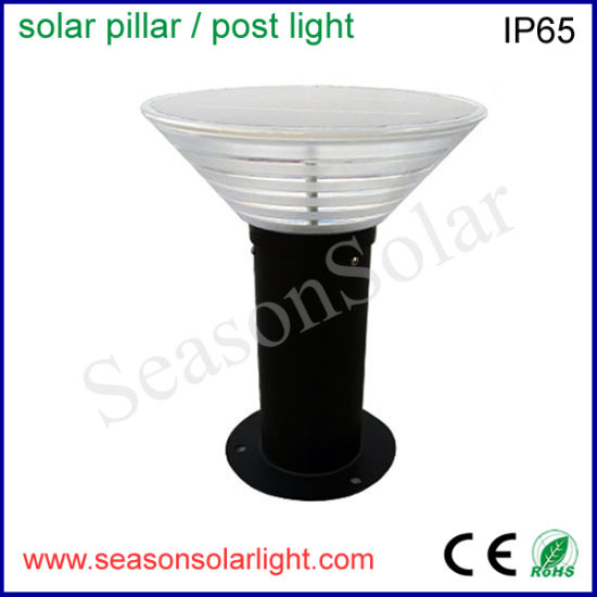 High Lumen Double LED Outdoor Low Voltage Landscape Lighting with Solar Power System for Garden Lighting
