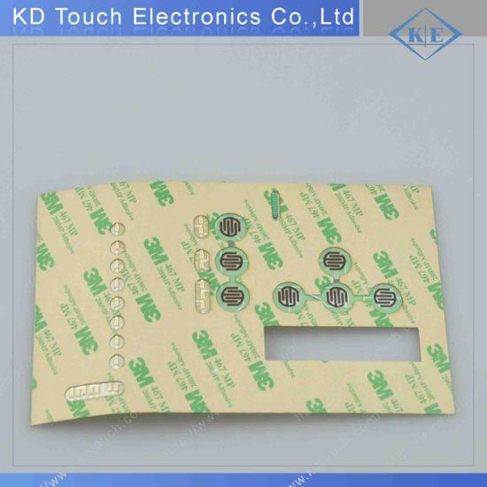Tactile LED Membrane Keypad with Multi-LED Laminated with 3m Adhesive