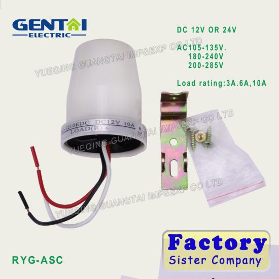 10A Day Night on off Light Control Photocell Sensor Switch pictures & photos