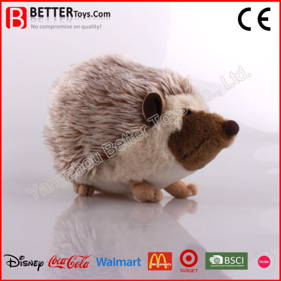 ASTM Realistic Stuffed Animal Plush Soft Toy Hedgehog for Promotion pictures & photos