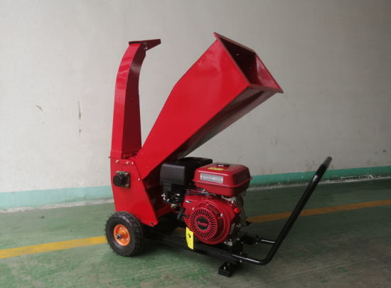 9HP Petrol Tree Branches Chipper Shredder