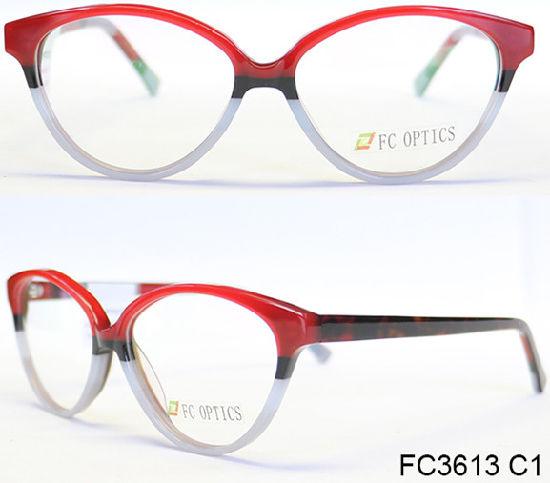 China Customized Brand Acetate Optical Frames - China Acetate Frame ...