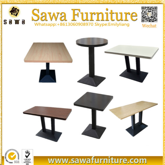 China Factory Price Fast Food Restaurant Dining Tables China - Restaurant table price