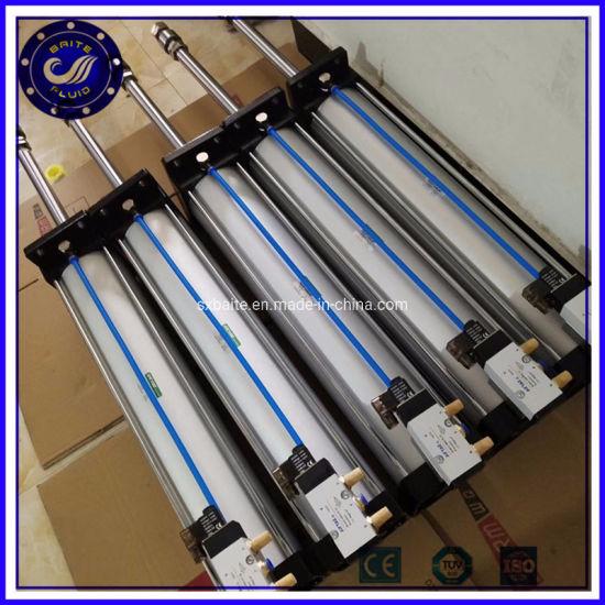 High Pressure 80mm Bore Adjustable Stroke Pneumatic Cylinder