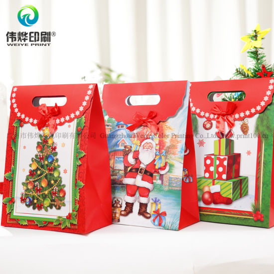 Custom Latest E Packaging Printing Gift Paper Promotional Bag pictures & photos