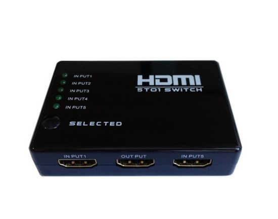 HDMI 3 to 1 High Performance Switch 3 Port Amplifier Selector w// Remote Control