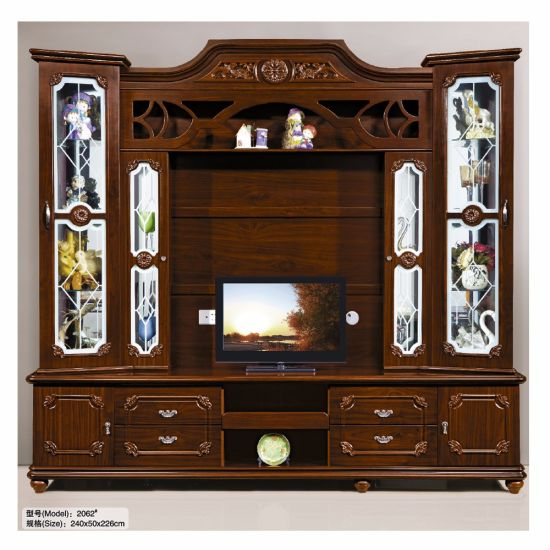 Perfect Wooden TV Stand Home Living Room Hall Cabinet