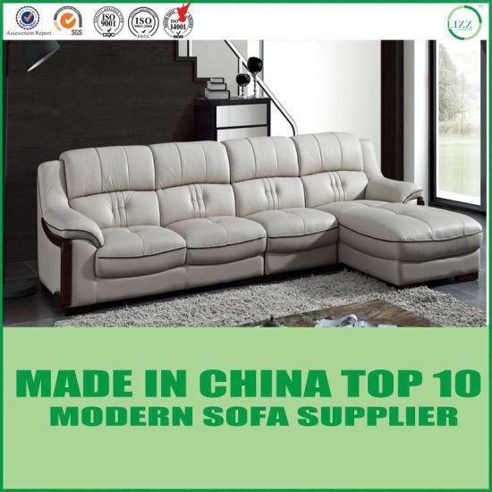 Classic Living Room Furniture Italian Leather Sofa Set