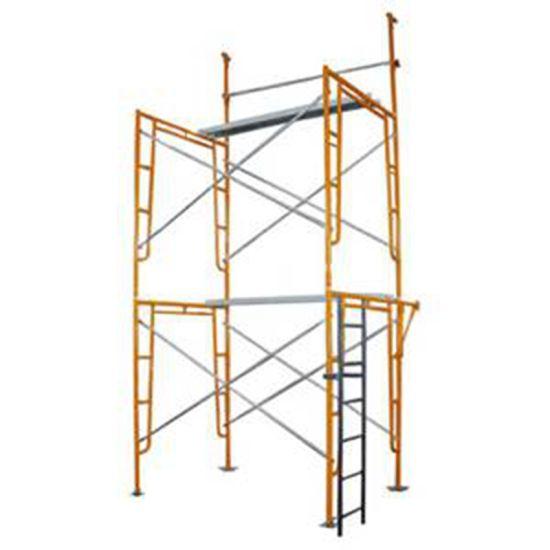 Customized Heavy Duty Steel Frame Scaffolding System for Formwork