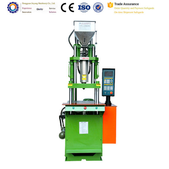 China Made Plastic Trim Vertical Plug Molding Machine pictures & photos