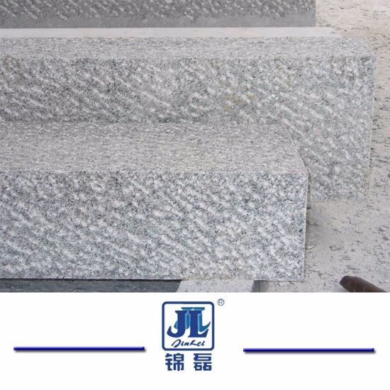 G603 Grey Chinese Natural Flamed Granite Pavers Kerb Road Stone Curbstone pictures & photos