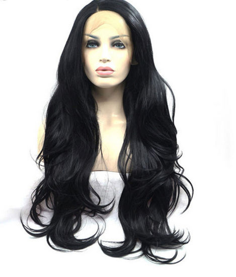 China Best Fashion Long Wavy Synthetic Lace Front Wig - China Women ... 8e63a4ef59