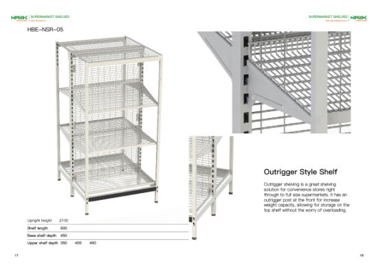 Australia Display Rack for Supermarket and Shops pictures & photos