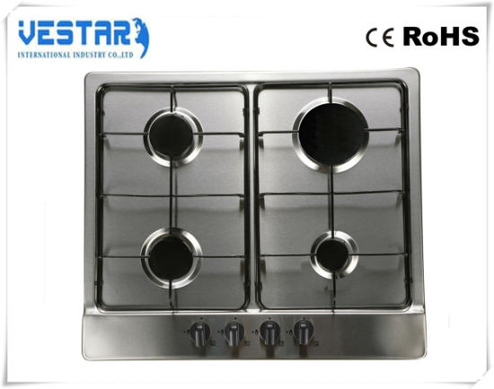 Kitchen Use 5 Burenr Tempressed Glass Gas Stove Gas Cooker pictures & photos