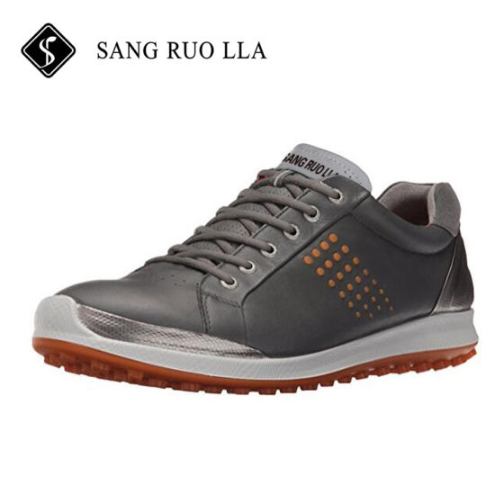 China Cheap Golf Shoes with High