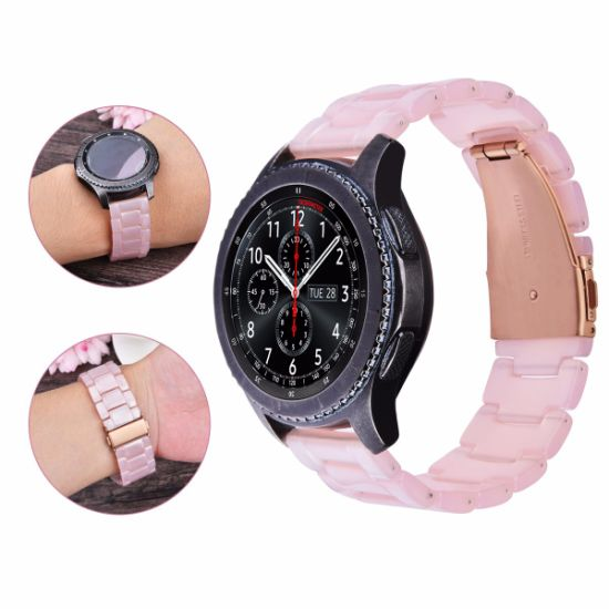 Beautiful Colors Resin Bracelet Watch Strap For Samsung Gear S3