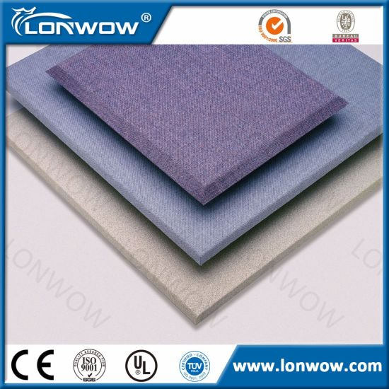 Soundroof Fabric Covered Fiberglass Acoustic Wall Panels