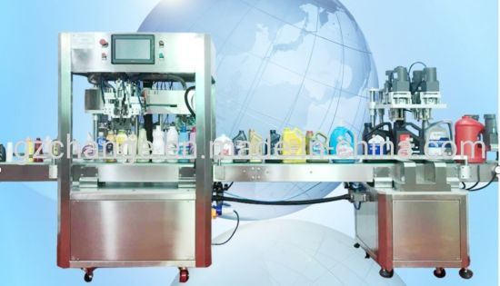 Intelligentize Hand Gel Filling Capping Processing Line