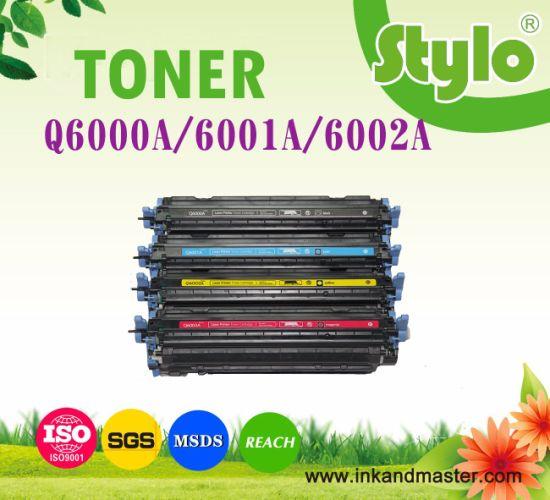 Color Printer Toner Cartridge Q6000A for HP 1600 2600n 2605