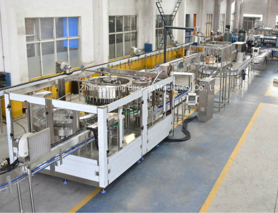 Automatic Pet Bottled Water Filling Machine Line