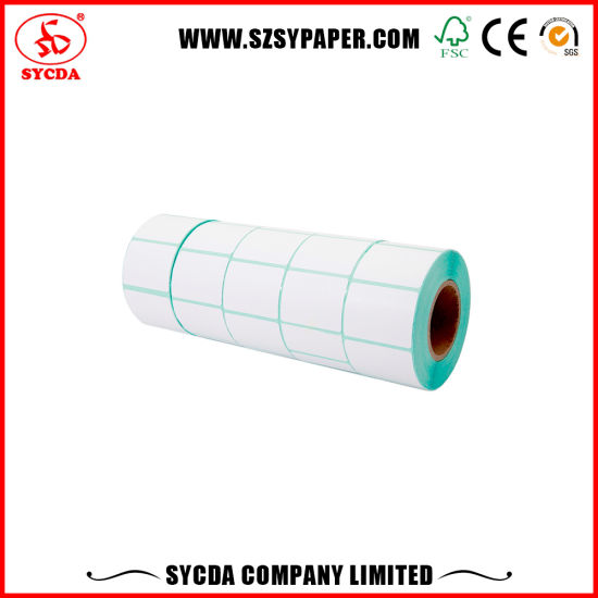 Precision Face Material Thermal Self Adhesive Label