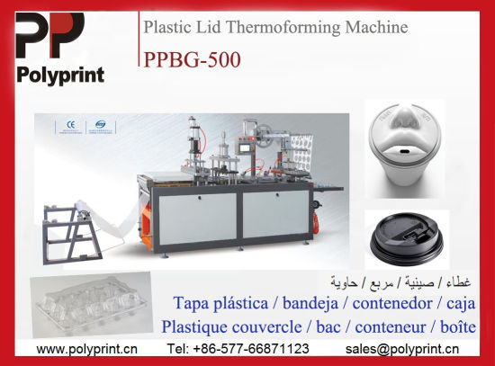 Automatic Plastic Pet/PS/PVC Cup Lid Fruits Food Clamshell Packages Box Thermoforming Forming Making Machine