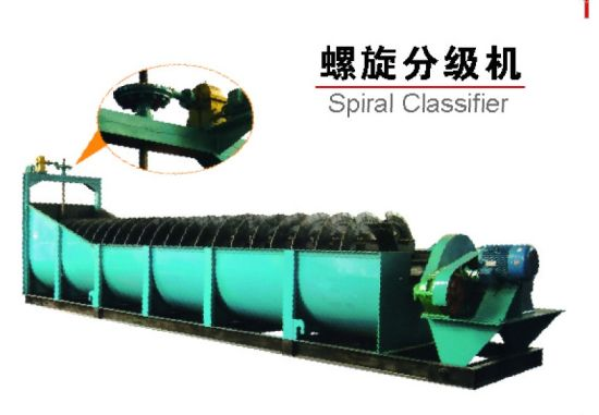Mining Ore Beneficiation Spiral Classifier Beside Ball Mill pictures & photos