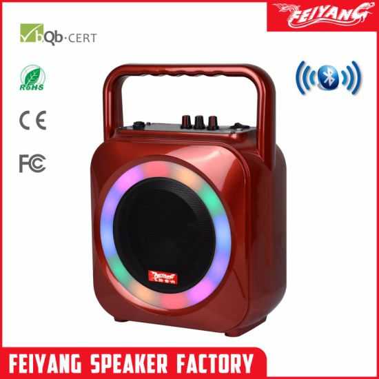 6.5 Inch Colorful Rechargeable Bluetooth Speaker Box F105 pictures & photos