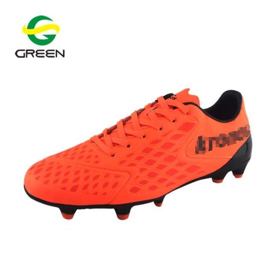 8f808b8ae China Geenshoe Leather Soccer Shoes Manufacturers