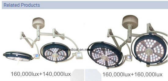 LED Surgical Lighting System Mobile Ot Light Ceiling Mounted Manufacture pictures & photos