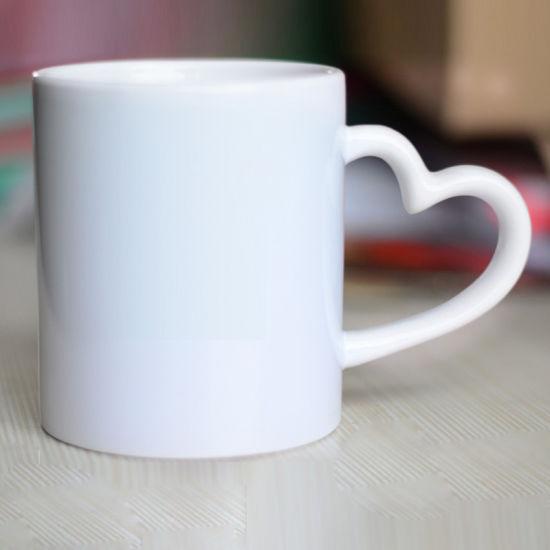 China Sublimation Blank 11oz Ceramic Photo Mugs