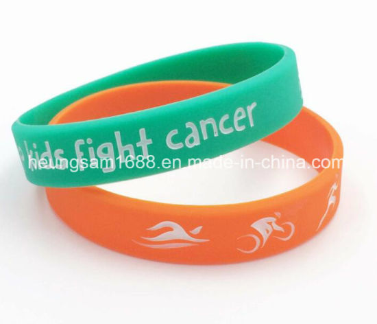Professional Manufacturer Cheap Sport Wristband Silicone Bracelets Silicon Custom Wristbands