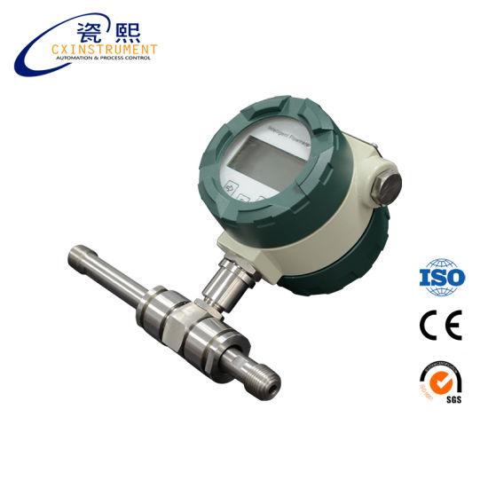 China Intelligent Micro Air Gas Turbine Flowmeter - China