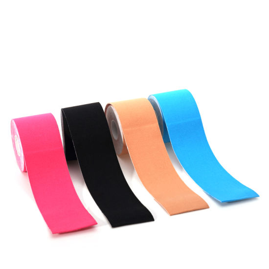 Strong Adhesive Competitive Price Kinesiology Tape FDA Ce ISO pictures & photos