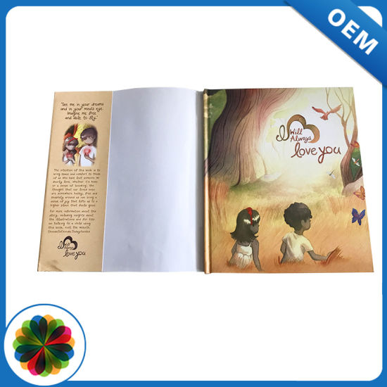 Well Designed Hardcover Binding China Full Color Child Book Printing ...