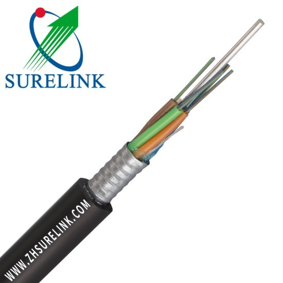 36 or 96 Core Fiber Optic Cable Outdoor Optical Fiber Cable GYTA pictures & photos