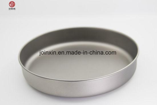 Titanium Food Grade Frying Pan Camping Tableware Products