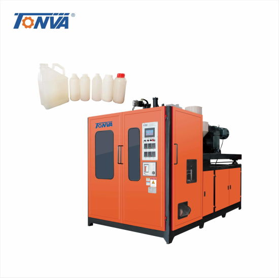 5 Liter Four Layers Plastic Pesticide Bottle Blowing Machine Extrusion Blow Moulding Machine pictures & photos